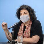 "Vizzotti: ""ninguna dosis de ninguna vacuna vence"""
